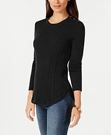 Cable Sweater, Created For Macy's