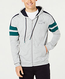 Lacoste Men's Logo Colorblocked French Terry Zip Hoodie