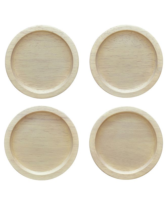 Noritake Hammock Wood Set of 4 Coasters