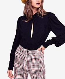 Free People First Love Keyhole Cutout Top
