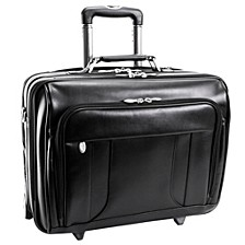 "Lasalle 15"" Wheeled Laptop Overnight with Removable Briefcase"