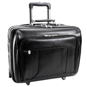 """Mcklein Lasalle 15"""" Wheeled Laptop Overnight with Removable Briefcase"""