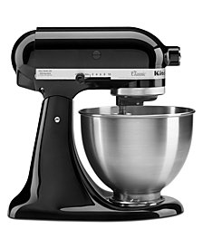 KitchenAid K45SSOB Classic Series 4.5-Qt. Tilt-Head Stand Mixer