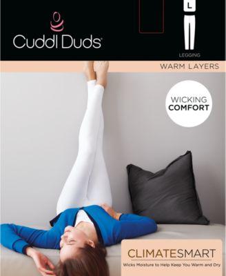 Cuddl Duds Climatesmart Womens Leggings