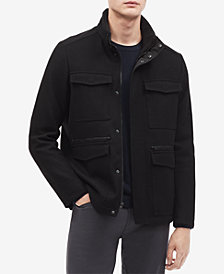 Calvin Klein  Men's Wool-Blend Jacket