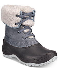 The North Face Women's Shellista Cuffed Cold-Weather Boots