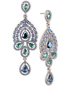 Jenny Packham Crystal & Stone Chandelier Earrings