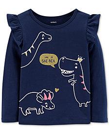 Carter's Toddler Girls Cotton She-Rex T-Shirt