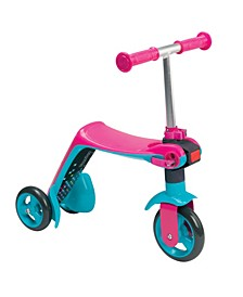 Smoby - Reversible 2 in 1 Scooter, Pink