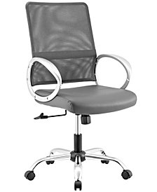 Modway Command Mesh and Vinyl Office Chair