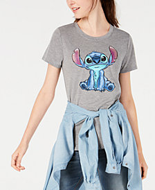 Modern Lux Juniors' Disney Stitch Graphic T-Shirt