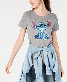 Modern Lux Juniors' Disney Stitch Graphic T-Shirt