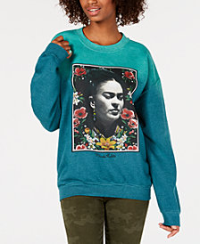 True Vintage Juniors' Frida Kahlo Sweatshirt