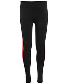 Ideology Big Girls Tuxedo-Stripe Leggings, Created for Macy's