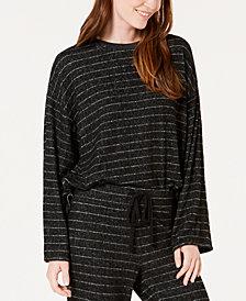 Alfani Soft-Knit Pajama Top, Created for Macy's