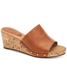Style & Co Carinii Platform Sandals, Created For Macy's