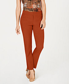 Kasper Petite Stretch Crepe Pants