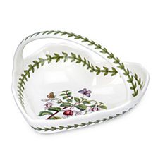 Botanic Garden Small Heart Shaped Basket