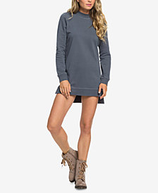 Roxy Juniors' Sun's Spinning Cotton Sweatshirt Dress