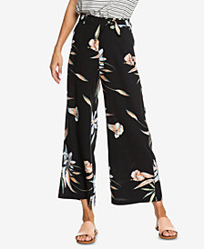 Roxy Juniors' Waterfall Light Printed Flared Pants