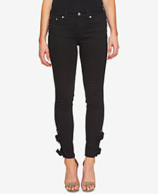 CeCe Bows Skinny Jeans