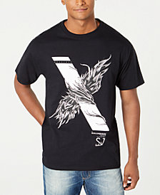 Sean John Men's Wing Wrap Graphic T-Shirt