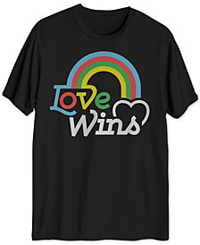 Love Wins Men's Graphic T-Shirt