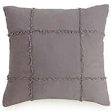 "Ayesha Curry Fringe Square 18"" Decorative Pillow"