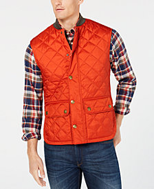 Barbour Men's Oakwell Quilted Vest, A Sam Heughan Exclusive, Created for Macy's
