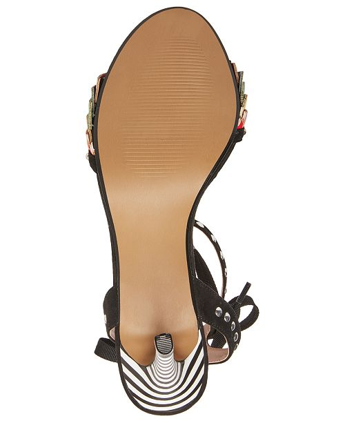362aa7adba45 Betsey Johnson Tyna Multicolored Studded Sandals   Reviews - Sandals ...