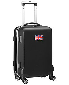"""21"""" Carry-On 100% ABS Hardcase Spinner Luggage - England Flag"""