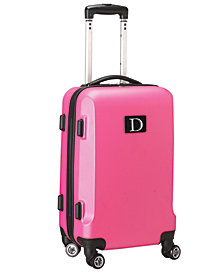 Luggage Carry-On 21-Inch Hardcase Spinner 100% ABS With Letter D