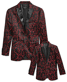 I.N.C. Boys' Match-To-Dad Jacquard Blazer, Created for Macy's