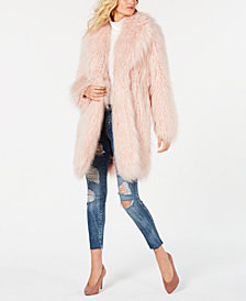 GUESS Serenity Faux-Fur Coat