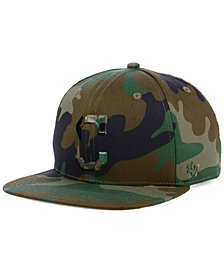 '47 Brand Cleveland Indians Camo Snapback Cap