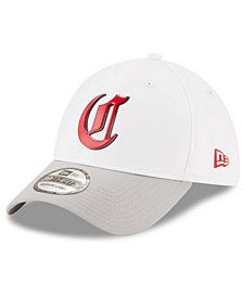New Era Cincinnati Reds White Batting Practice 39THIRTY Cap