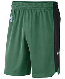 Nike Men's Boston Celtics Practice Shorts