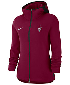 Nike Women's Cleveland Cavaliers Showtime Full-Zip Hoodie
