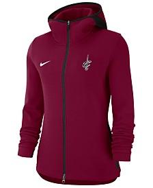 Nike Women's Cleveland Cavaliers Showtime Full-Zip Hoodie