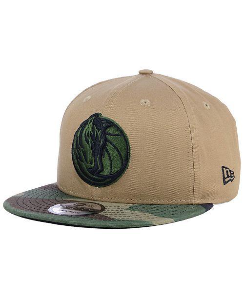 big sale 7d07d 1f1f6 New Era Dallas Mavericks Camo Tipping 9FIFTY Snapback Cap - Sports ...