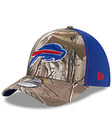 New Era Buffalo Bills Realtree Camo Team Color Neo 39THIRTY Cap