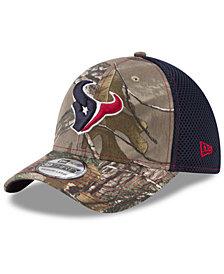 New Era Houston Texans Realtree Camo Team Color Neo 39THIRTY Cap