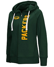 G-III Sports Women's Green Bay Packers 1st Down Hoodie