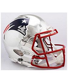 Riddell New England Patriots Speed Chrome Alt Authentic Helmet