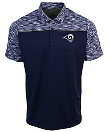 Authentic NFL Apparel Men's Los Angeles Rams Final Play Polo