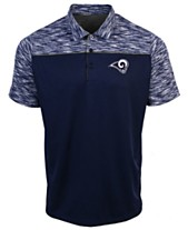 Authentic NFL Apparel Men s Los Angeles Rams Final Play Polo 29356026d12