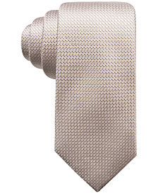 Tasso Elba Men's Texture Silk Tie, Created for Macy's
