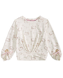 Hello Kitty Toddler Girls Printed Top