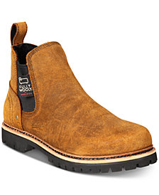 Woolrich Men's Skookum Waterproof Leather Chelsea Boots