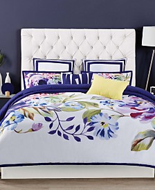 Christian Siriano Garden Bloom King 3 Piece Duvet Set